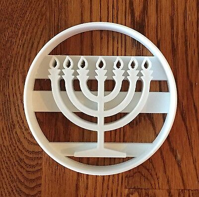 Hanukkah Cookie Cutters (Chanukah Menorah cookie and fondant cutter - US)