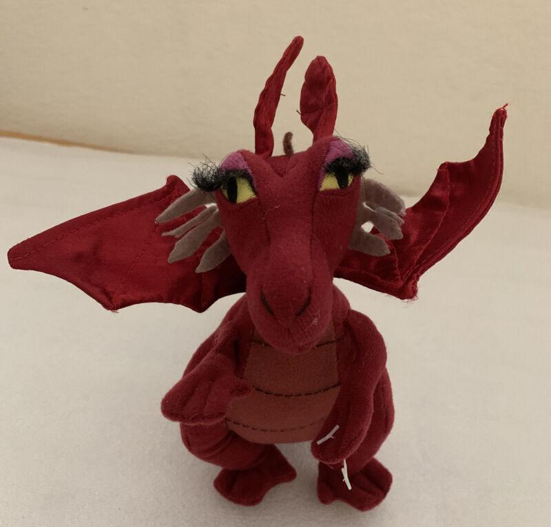 """Shrek Dragon 7"""" Lady Plush Stuffed Toy Nanco 2004 Dreamworks"""