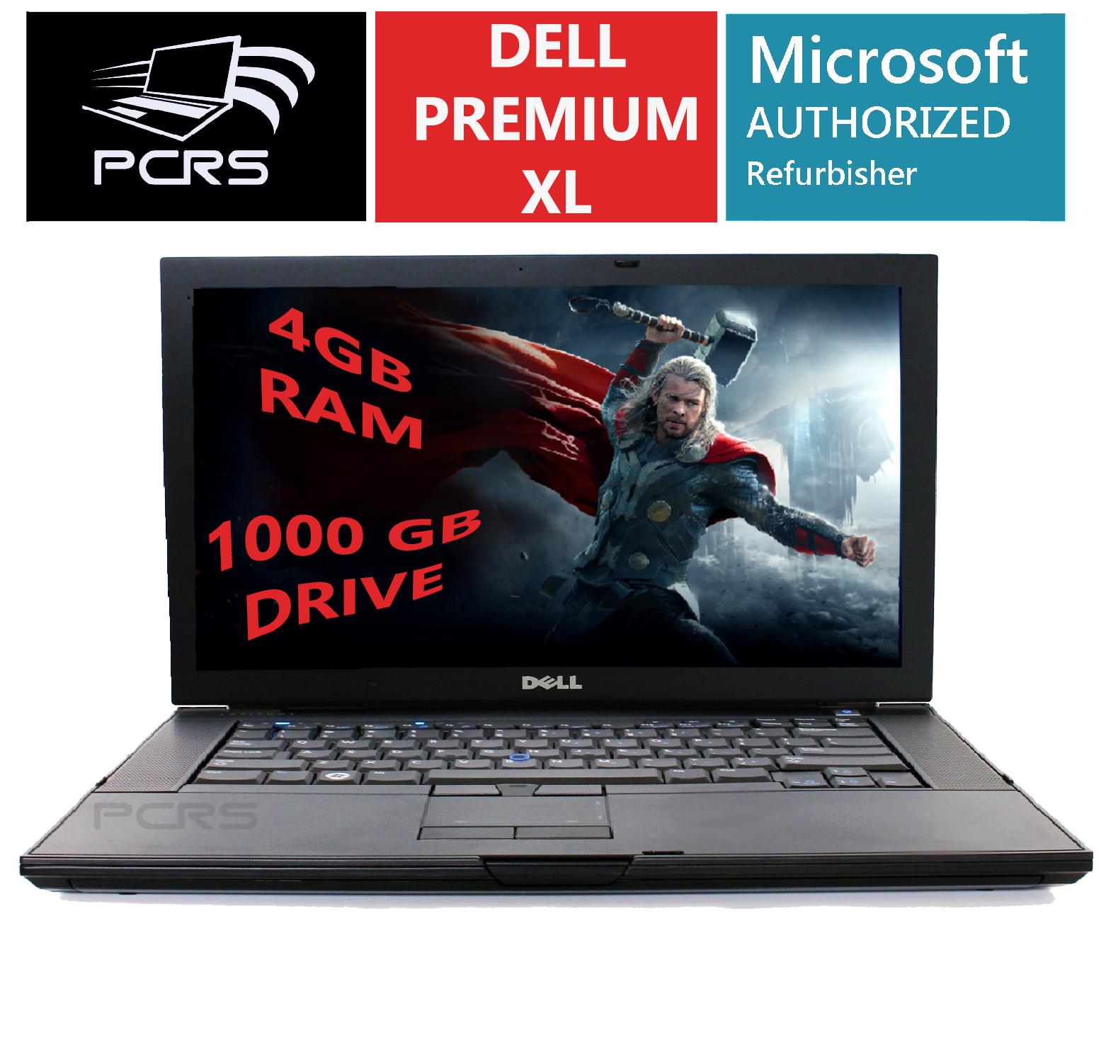 "Laptop Windows - DELL Latitiude 15.4"" HD Screen Laptop Intel 2.4GHz 4GB 1TB DVD+RW Windows 10"
