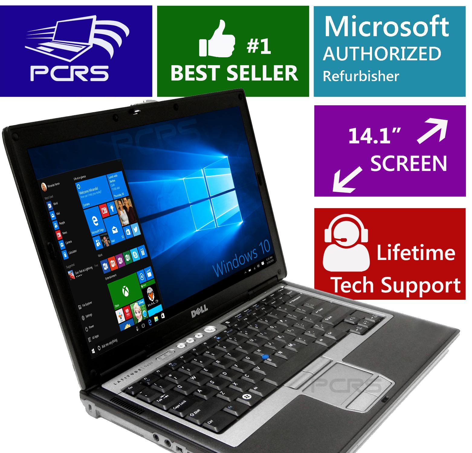 Laptop Windows - DELL Latitude Laptop Windows 10 Intel Core 2 Duo DVD WiFi Notebook HD Computer