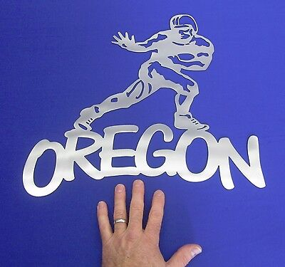 Oregon Football Man Cave Shop Office Plasma Cut Wall Art Sign Osu Ducks - Oregon Duck Shop
