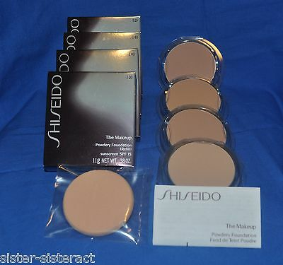 Shiseido The Makeup Powdery Foundation Spf 15 Refill - U Pick Color -