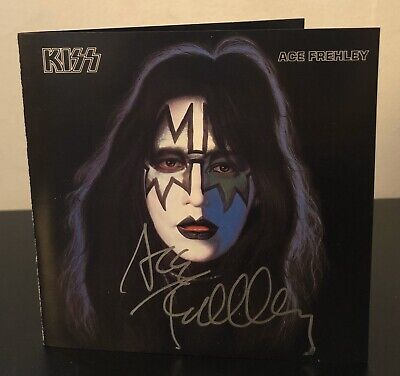 Signed! Ace Frehley KISS Solo CD Excellent Condition Signed 7/1/88 Saginaw MI