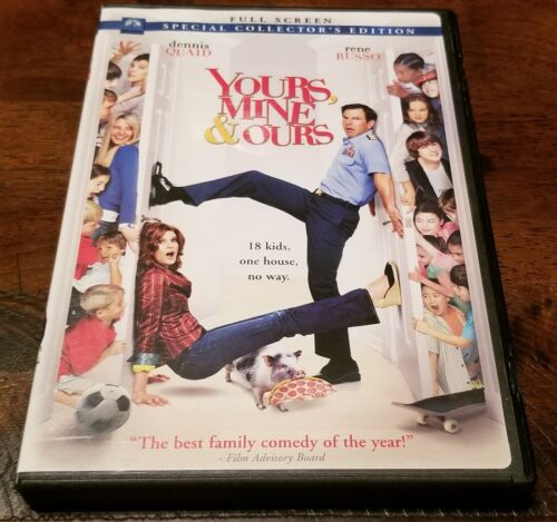 Yours Mine And Ours Dvd - $6.50