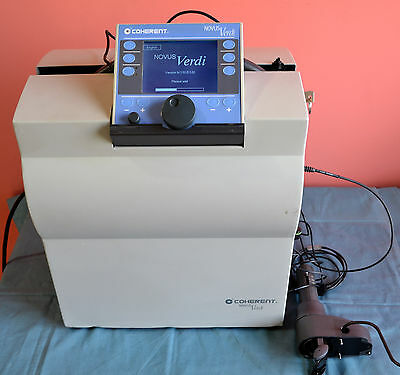 Lumenis Coherent Novus Verdi 532nm Laser With Laserlink Delivery Unit