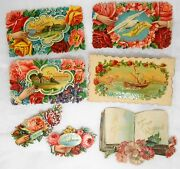 Antique Die Cut Scraps