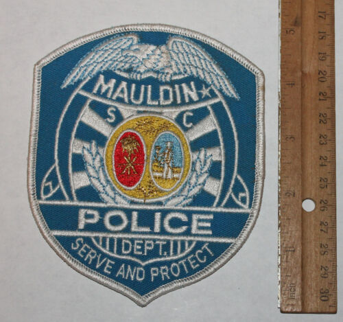 MAULDIN POLICE DEPT South Carolina SC PD Larger patch