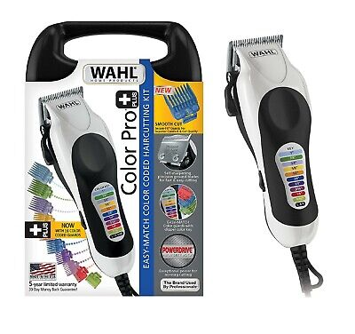 WAHL Professional CLIPPERS Men Trimmer Hair Cutting Kit Tool Tool Color Pro