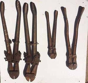4 Bolt cutters various sizes Bunglegumbie Dubbo Area Preview