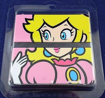 Peach Cover Plate / Zierblende für New 3DS - sehr gut erhalten #IW3