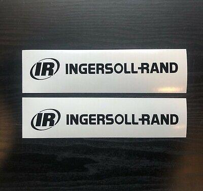 Bobcat Ir Ingersollrand Set Of 2 Logo Skid Steer Vinyl Decal Sticker