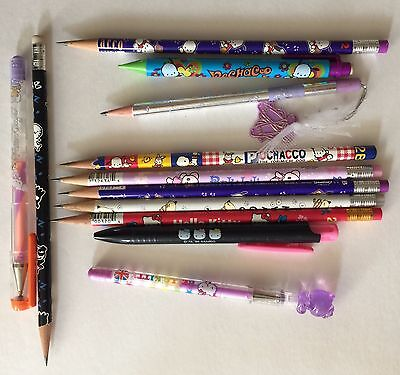 Vintage Sanrio Pencils Pens Lot 1980s 1990s and 2000s