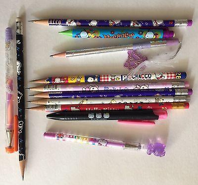 Vintage Sanrio Pencils Pens Lot 1980s 1990s and 2000s