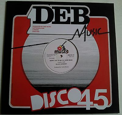 BLACK HARMONY-DON'T LET IT GO TO YOUR HEAD!!!! 12INCH DEB MUSIC!!!!