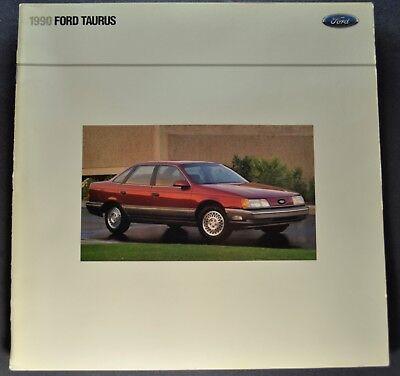 1990 Ford Taurus Wagon - 1990 Ford Taurus Catalog Sales Brochure SHO LX L GL Wagon Excellent Original 90