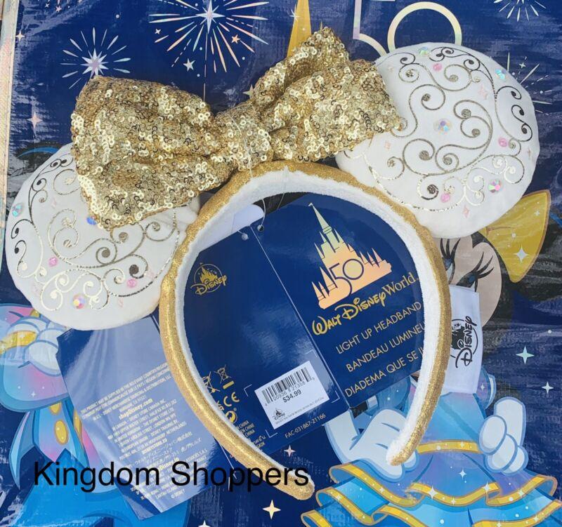 2021 Disney Parks Walt Disney World 50th Celebration Castle Collection Ears