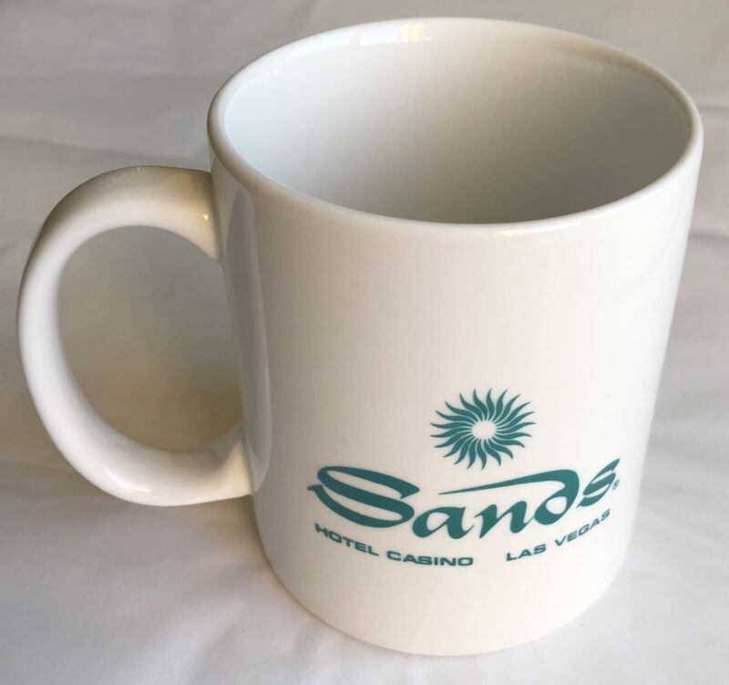 Vintage Sands Hotel Las Vegas Coffee Mug Cup