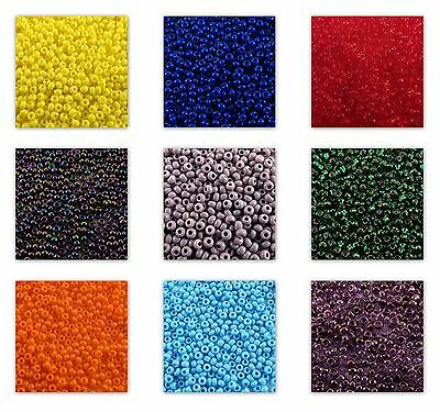 6/0 Preciosa Round Czech Rocailles Loose Seed Beads 20 gram (1 of 3) - Loose Seed Bead