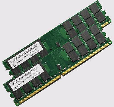 8GB (2 X 4 GB) DDR2 RAM PC2-6400 800 MHz RAM AMD Arbeitsspeicher Desktop PC
