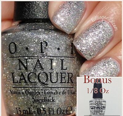 OPI Nail Polish SUPER STAR STATUS HR G39 Bonus Chip Skip 1/8 fl oz