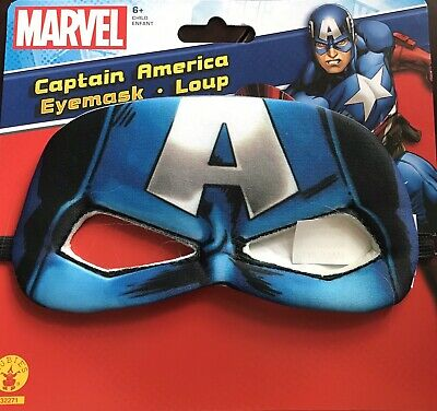 Halloween Superhero Eye Masks (Captain America Eye Mask Marvel Superhero Halloween Child Costume)