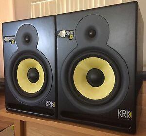 KRK ROKIT 8 Powered Monitor Speakers (set of 2) Byford Serpentine Area Preview