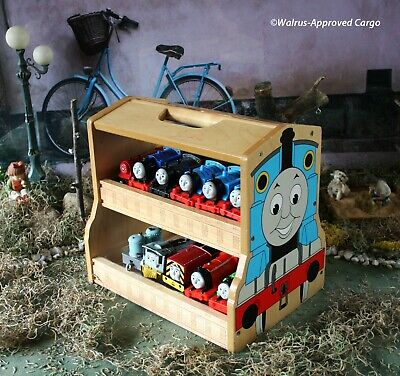 MOTORIZED THOMAS TANK ENGINES & FRIENDS + WOODEN CARRIER – THE TRACK FOR FUN!