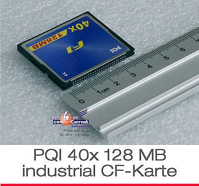 128 MB PQI 40x COMPACT COMPATTA FLASH MEMORY CARD flash SCHEDA CF Scheda CF -29