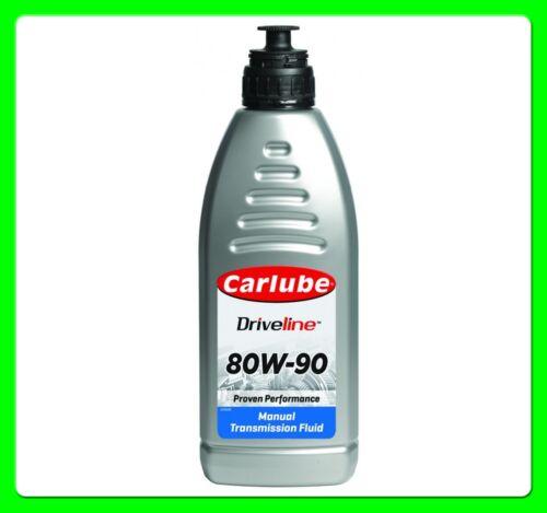 Carlube+MTF+80W+90+Gear+Box+Oil+%2F+Transmission+Fluid+1+Litre+%5BKAS010%5D+