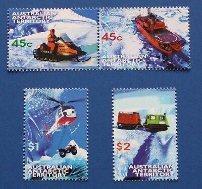 AAT (L107-L110) 1998 Modes of Transportation stamp set (MNH)