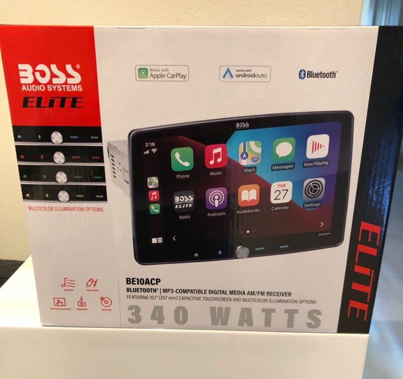 "BOSS 10.1"" Display Audio Elite BE10ACP Apple CarPlay/Android Auto"
