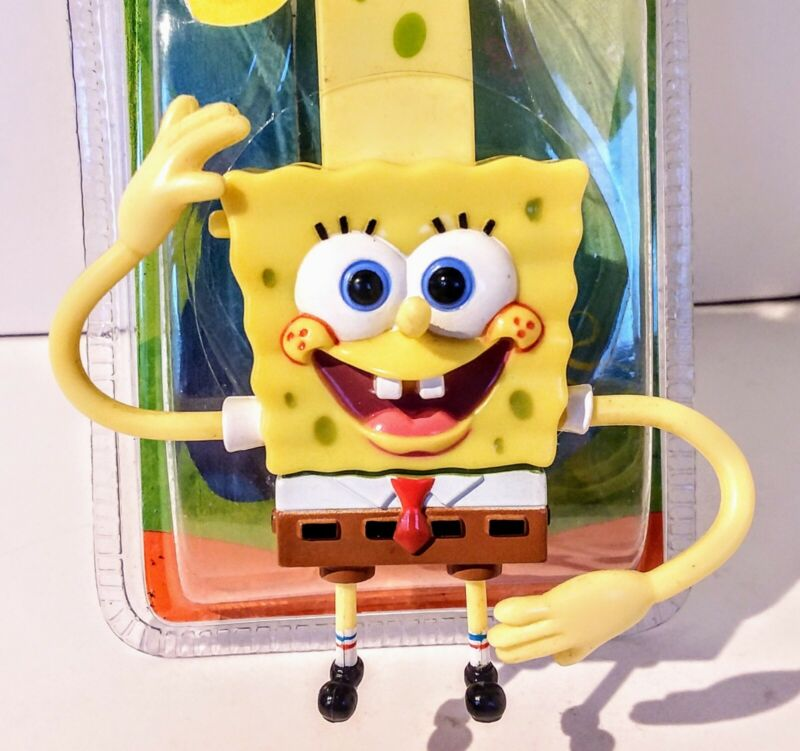 SpongeBob SquarePants Watch 2002 Nickelodeon Viacom New In Package Rare Digital