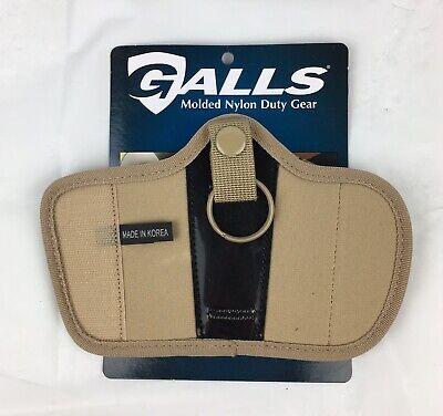 Galls Molded Nylon Silent Key Holder Desert Tan Duty Gear Police Military