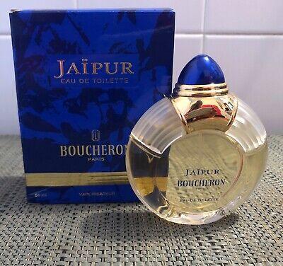 Vintage Boucheron Jaipur Eau De Toilette 1.7 Fl Oz with Box