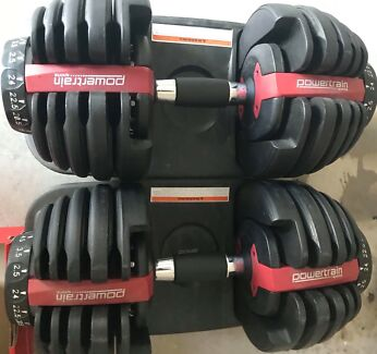 PowertrainAdjustable dumbell 24 kg each