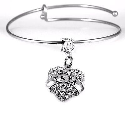 Yaya Bracelet Yaya Gift Yaya Bangle Yaya Present Yaya charm Yaya Bracelet Best