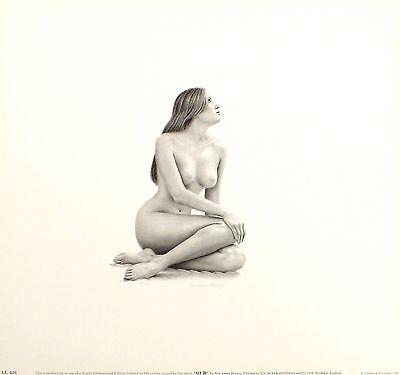 "ANN JAMES MASSEY ""Liz III"" nude woman SIGNED ltd ed! SIZE:35cm x 37cm NEW RARE"