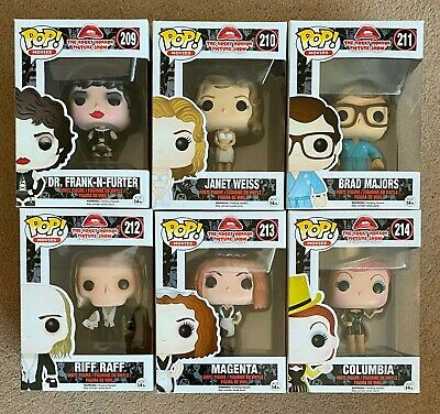 FUNKO POP! * THE ROCKY HORROR PICTURE SHOW * COMPLETE SET OF...