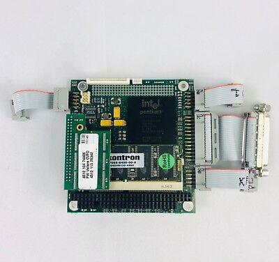 Kontron 01023-0000-17-4 Pentium MMX Embedded Computer Board 166 mhz Fanless comprar usado  Enviando para Brazil
