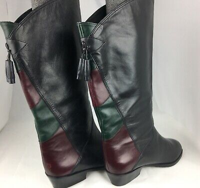 Gabor Boots Leather Knee High Womens US 6  UK 4 for sale  Kingston Springs