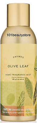 - THYMES Olive Leaf Home Fragrance Mist 3oz TESTER ***NEW.UNBOXED***