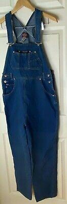 Vintage Overalls & Jumpsuits No Excuses Original Denim Bib Overalls Women's Size M 100% Cotton $39.99 AT vintagedancer.com