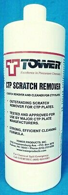 Tower Ctp Scratch Remover New Cleaner For Ctp Plates Recover Strong Formula 1.3