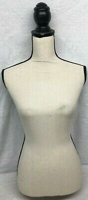 Womens Full Body Torso Mannequin With Cloth Covering Can Be Attached To A Stand