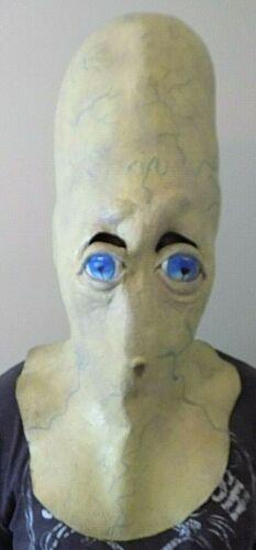Oversized Alien Mask Latex Halloween Costume 2000 Squid Thumb Vintage