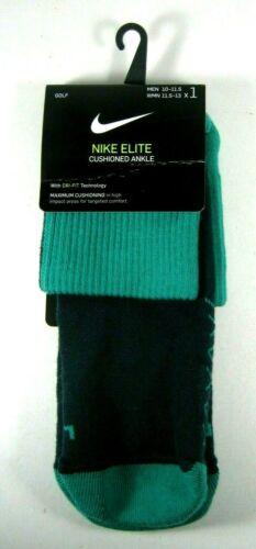 Nike Golf Elite Cushioned Ankle Socks Green SG0796-372  Large 1 Pair