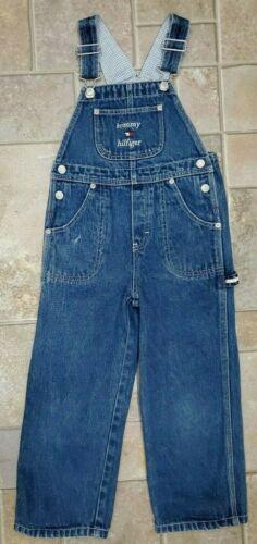 Vintage Denim Tommy Hilfiger Jeans Youth Size 5 Bib Overalls