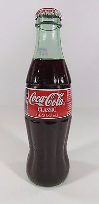Coca Cola Classic Collector's Bottle #94 Bill Elliott Nascar 1999 8 FL. OZ PK