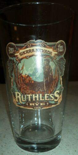 Sierra Nevada Ruthless Rye IPA Pint Glass