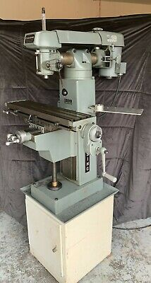 Clausing Vertical Milling Machine 8530-item In Fair Condition